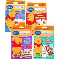 Disney Winnie the Pooh Learning Cards (Set of 4 Decks) by Disney