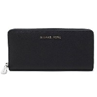 (マイケル コース)MICHAEL KORS『JET SET TRAVEL ZA CONTINENTAL』 長財布【BLACK】32T3STVE3L BLACK [並行輸入品]