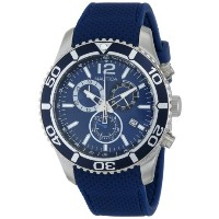 ノーティカ Nautica Men's N15103G NST 09 Stainless Steel Watch with Blue Silicone Band [並行輸入品]