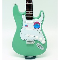 [Musical Story] High-class ミニチュア ギター 模型 ジェフ・ベック Stratocaster Up Date スタイル