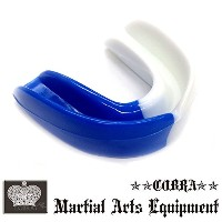 COBRA 薄型マウスピース(ケース付き) MOUTH GUARD BL/WH
