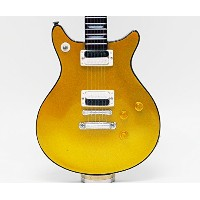 [Musical Story] ミニチュア ギター DC Standard Gold top Gloss 2008 スタイル