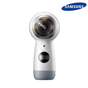 NEW SAMSUNG 2017 Gear 360 SM-R210 Camera Create 360 VR Content for S8 S8+ 対応[並行輸入品]