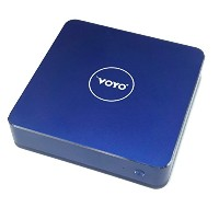 小型PC VOYO V1(VMAC mini PC) win10 CPU:Apollo Lake N4200 ram: 4GB DDR3L Rom: 32GB+128GB SSD Royal...