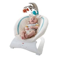 Fisher-Price Deluxe Bouncer, Soothing Savanna [並行輸入品]