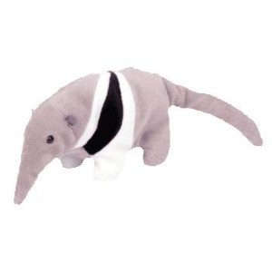 Ty Beanie Babies - Ants the Anteater with Gray and Black Colors [Toy] by Ty [並行輸入品]