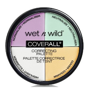 WET N WILD CoverAll Correcting Palette 4 Shades (並行輸入品)