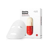 Dr. Jart /ドクタージャルトDermask Micro Jet Clearing Solution Mask Sheet, 5 Count[並行輸入品]