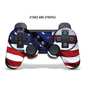 Protective Skin for Playstation 3 Remote Controller - Stars N Stripes