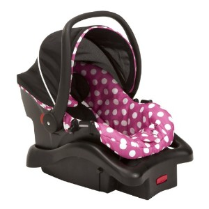 Disney Light 'n Comfy Luxe Infant Car Seat, Minnie Dot by Disney