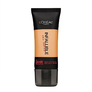 L'Oreal Paris Infallible Pro-Matte Foundation Makeup, 106 Sun Beige, 1 fl. oz[並行輸入品]