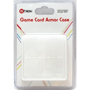 DS Game Card Case 16 - Clear (輸入版)