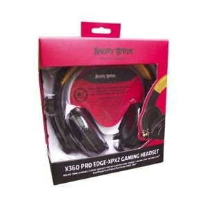 ANGRY BIRDS Xbox 360 Pro Edge XPX2 Twin Channel Gaming Headset (35202)