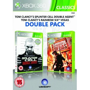 Ubisoft Double Pack - Rainbow Six Vegas & Splinter Cell Double Agent (Xbox 360)