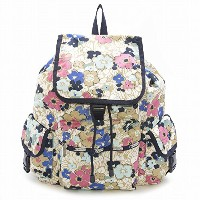 LeSportsac レスポートサック リュックサック 7839 VOYAGER BACKPACK D833 Ocean Blooms [並行輸入商品]