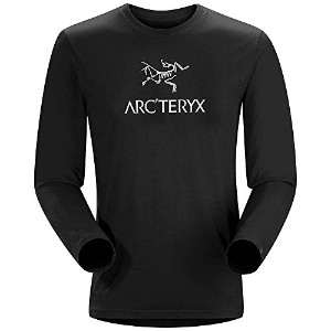 ARC'TERYX Bird Word T-Shirt LS Black Sサイズ