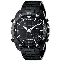 [パルサー]Pulsar 腕時計 Analog Display Japanese Quartz Black Watch PW6011 メンズ [並行輸入品]