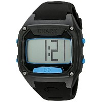フリースタイル Freestyle Unisex 10025776 Shark Tooth Digital Display Japanese Quartz Black/ Cyan Watch ...