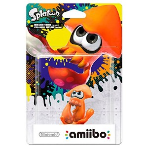 Splatoon Squid Orange Amiibo (Nintendo Wii U/Nintendo 3DS) (輸入版)