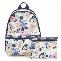 LeSportsac レスポートサック リュックサック 7812 Basic Backpack D833 OCEAN BLOOMS [並行輸入商品]
