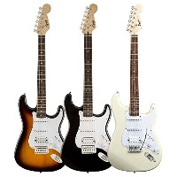 Squier by Fender/ Bullet® Strat® with Tremolo HSS, Rosewood Fingerboard【スクワイア フェンダー】 (Brown...