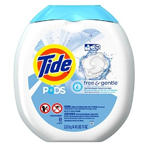Tide PODS Free & Gentle HE Turbo Laundry Detergent Pacs 81-load Tub by Tide