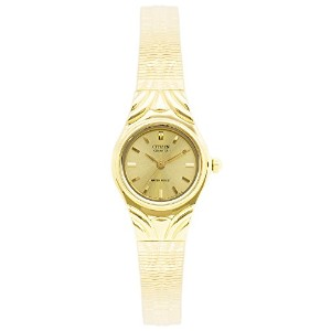 CITIZEN(シチズン) EJ4273-54P Gold Tone Dial Gold Plated Women's Watch レデースウォッチ [並行輸入品]