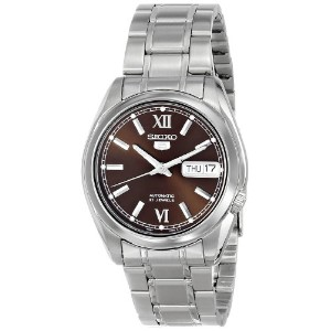 時計 セイコー Seiko 5 #SNKL53 メンズ Stainless Steel Brown Dial Self Winding Automatic Watch [並行輸入品]