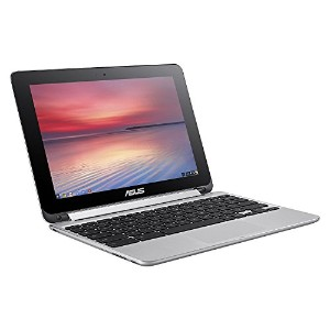ASUS Flip 2-in-1 C100PA-DS03 10.1-inch Touch Chromebook (1.8GHz, 4GB Memory, 32GB eMMC, Chrome OS),...
