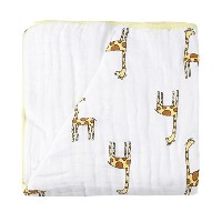 エイデンアンドアネイ / Aden+Anais DREAM BLANKET(JUNGLE JAM GIRAFFE+WHITE)並行輸入品