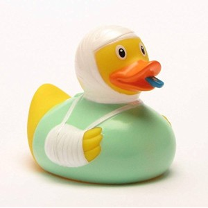 Rubber Duck Get Well - Bath Duck ゴム製のアヒル