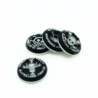 Thumbstick Grips for PS4 XBOX WII U Switch - Caps for all Controllers - Pirates White