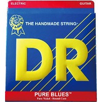 DR PURE BLUES PHR-9/46 Lite&Heavy エレキギター弦×6セット