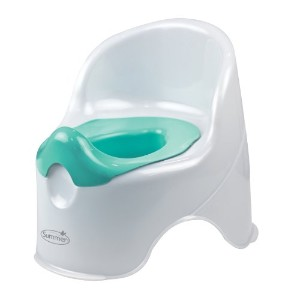 Summer Infant Lil' Loo Potty, White and Teal by Summer Infant [並行輸入品]