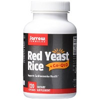海外直送品Jarrow Formulas Red Yeast Rice + CoQ10, 120 Caps 650 mg