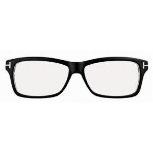 Tom Ford TF 5146/V 003 Black/Crystal Eyeglasses 56Mm