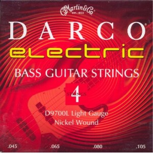 Martin Darco Nickel Wound 4 String Bass Guitar Strings (45-105)