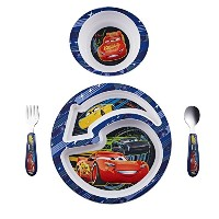 The First Years Disney/Pixar Cars 4-Piece Feeding Set by The First Years