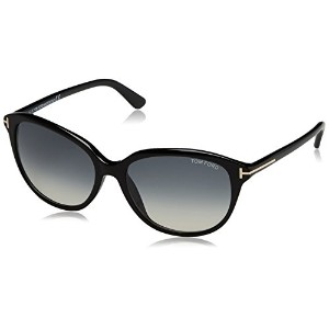 Tom Ford Karmen TF 329/S 01B Black TF329/S Cat Eye Womens Sunglasses