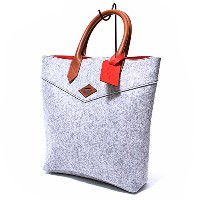 (レオンフラム) LEON FLAM SANTIAGO SHOPPING BAG GREY トートバッグ