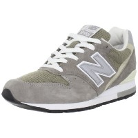 [ニューバランス]メンズNew Balance M996 - Made In USA Gray (30CM) US Size 12 (グレー)