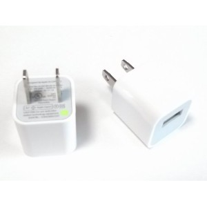 USB 充電アダプター AC100V DC5V 1A for iPhone