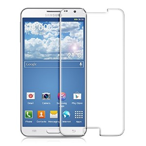 kwmobile 超強力保護ガラスディスプレイ Samsung Galaxy Note 3 Neo 3G / LTE+ 用 お好みのパターン - 保護ガラス 保護フィルム ディスプレイ保護