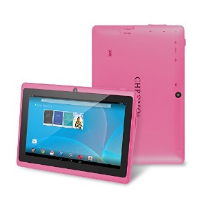 Chromo Inc 7inch Tablet Google Android 4.4 with Touchscreen, Camera, 1024x600 Resolution, Netflix,...