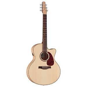 Seagull Performer Cutaway Mini Jumbo Flame Maple High-Gloss Quantum