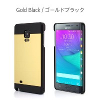 Galaxy Note Edge ケース カバー【motomo 正規品】INO METAL Galaxy Note Edge (Galaxy Note Edge, ゴールドブラック)