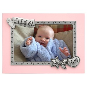 Malden It's A Girl Juvenile Picture Frame in Pink by Malden