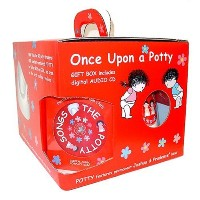 Once Upon A Potty Gift Box With Song Audio Cd by Child Matters