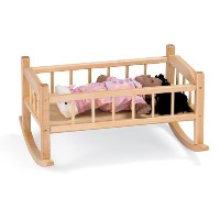 Traditional Doll Cradle - School & Play Furniture by CutieBeauty jc