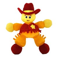Giggle Toys Duke The Cowboy, Yellow by Giggle Toys